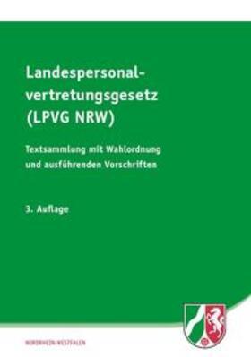 Landespersonalvertretungsgesetz (LPVG NRW) | Buch | sack.de
