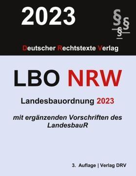 DRV   Landesbauordnung Nordrhein-Westfalen   Buch   sack.de