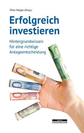 Hoppe   Erfolgreich investieren   Buch   sack.de