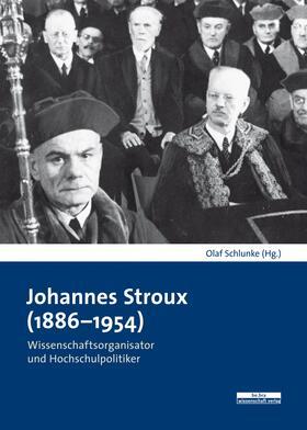 Schlunke   Johannes Stroux (1886-1954)   Buch   sack.de