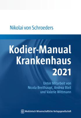 Schroeders   Kodier-Manual Krankenhaus 2021   Buch   sack.de