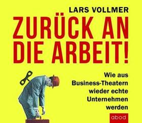 Vollmer | Zurück an die Arbeit - Back To Business, Audio-CD | Sonstiges | sack.de
