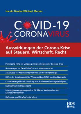Dauber / Merten | Auswirkungen der Corona-Krise auf Steuern, Wirtschaft, Recht | Buch | sack.de