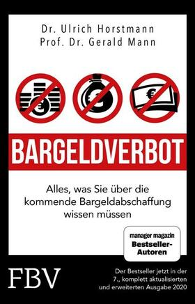 Horstmann / Mann / Halver | Bargeldverbot | Buch
