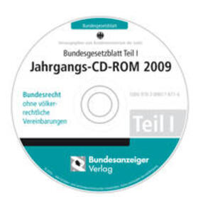 Bundesgesetzblatt Teil I Jahrgangs-CD-ROM 2009 | Sonstiges | sack.de