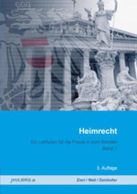 Zierl / Wall / Zeinhofer   Heimrecht   Buch   sack.de