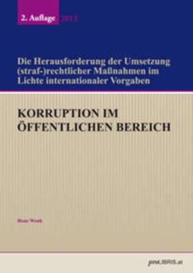Wenk | Korruption im öffentlichen Bereich | Buch | sack.de