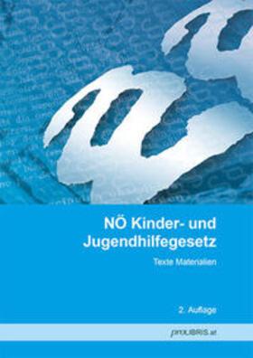 proLIBRIS VerlagsgesmbH | NÖ Kinder- und Jugendhilfegesetz | Buch | sack.de