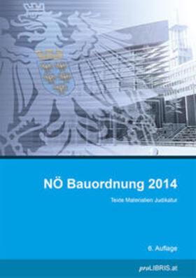 proLIBRIS VerlagsgesmbH   NÖ Bauordnung 2014   Buch   sack.de