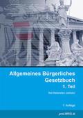 proLIBRIS VerlagsgesmbH |  Allgemeines Bürgerliches Gesetzbuch 1. Teil | Buch |  Sack Fachmedien