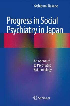 Nakane   Progress in Social Psychiatry in Japan   Buch   sack.de