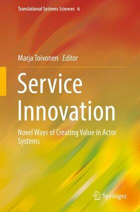 Toivonen | Service Innovation | Buch | sack.de