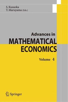 Advances in Mathematical Economics 4 | Buch | sack.de