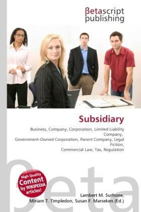 Subsidiary | Buch | sack.de