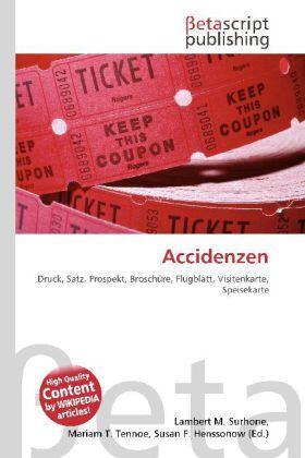 Accidenzen   Buch   sack.de