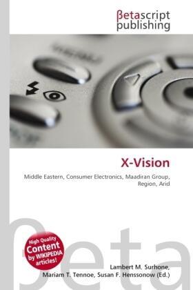 Surhone / Timpledon / Marseken | X-Vision | Buch | sack.de