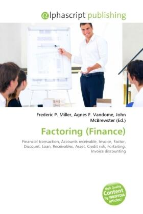 Miller / Vandome / McBrewster | Factoring (Finance) | Buch | sack.de
