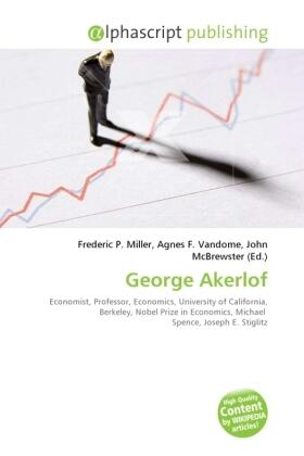 Miller / Vandome / McBrewster | George Akerlof | Buch | sack.de