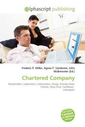 Miller / Vandome / McBrewster | Chartered Company | Buch | sack.de
