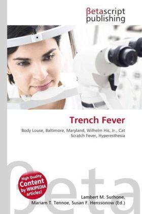 Surhone / Timpledon / Marseken | Trench Fever | Buch | sack.de