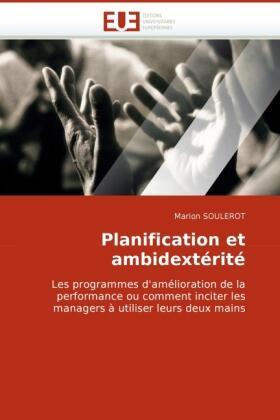 Planification Et Ambidextérité   Buch   sack.de