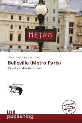 Krastyo Morpheus   Belleville (Métro Paris)   Buch   sack.de