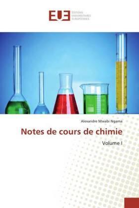 Mwabi Ngama | Notes de cours de chimie | Buch | sack.de
