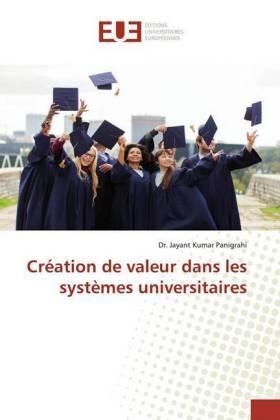 Création de valeur dans les systèmes universitaires   Buch   sack.de
