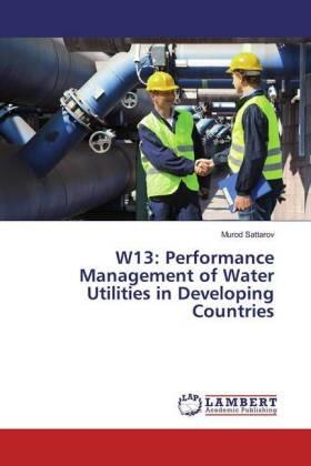 Sattarov | W13: Performance Management of Water Utilities in Developing Countries | Buch | sack.de