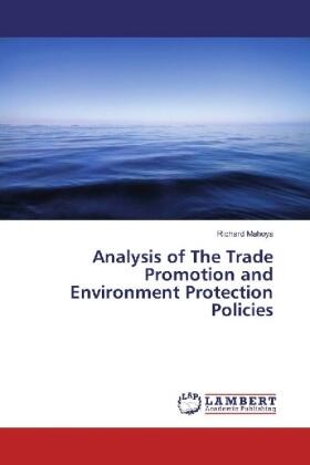 Mahoya | Analysis of The Trade Promotion and Environment Protection Policies | Buch | sack.de