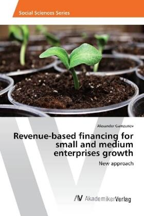 Gamzunov | Revenue-based financing for small and medium enterprises growth | Buch | sack.de