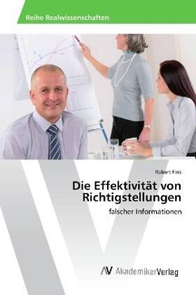 Fink | Die Effektivität von Richtigstellungen | Buch | sack.de