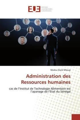 Administration des Ressources humaines | Buch | sack.de