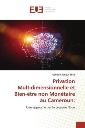 Privation Multidimensionnelle et Bien-être non Monétaire au Cameroun: | Buch | sack.de