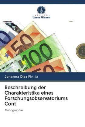 Beschreibung der Charakteristika eines Forschungsobservatoriums Cont | Buch | sack.de