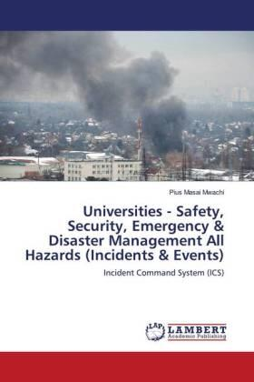 Universities - Safety, Security, Emergency & Disaster Management All Hazards (Incidents & Events) | Buch | sack.de