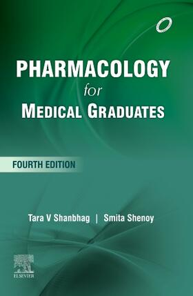 Shanbhag / Shenoy   Pharmacology for Medical Graduates, 4th Edition   Buch   sack.de