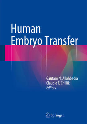 Allahbadia / Chillik | Human Embryo Transfer | Buch | sack.de