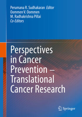 R. Sudhakaran | Perspectives in Cancer Prevention-Translational Cancer Research | Buch | sack.de