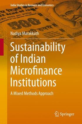 Marakkath   Sustainability of Indian Microfinance Institutions   Buch   sack.de