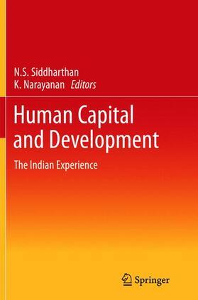 Siddharthan / Narayanan   Human Capital and Development   Buch   sack.de