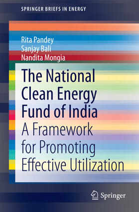 Pandey / Bali / Mongia   The National Clean Energy Fund of India   Buch   sack.de