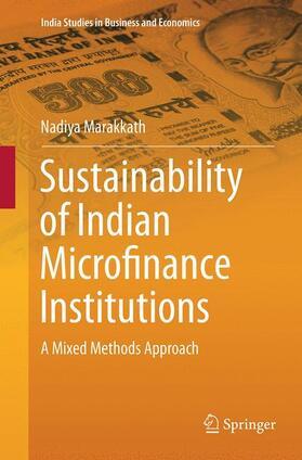 Marakkath | Sustainability of Indian Microfinance Institutions | Buch | sack.de