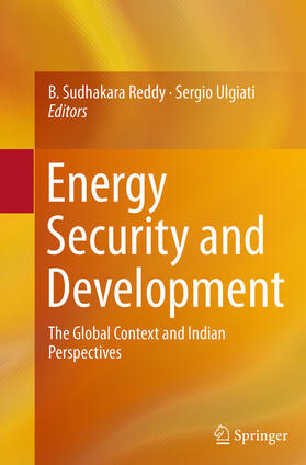 Reddy / Ulgiati | Energy Security and Development | Buch | sack.de