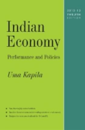 Indian Economy: Performance and Policies | Buch | sack.de