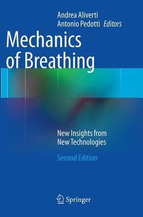 Aliverti / Pedotti | Mechanics of Breathing | Buch | sack.de