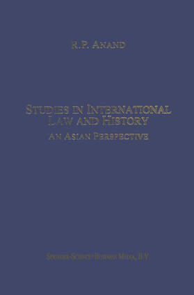 Anand | Studies in International Law and History | Buch | sack.de