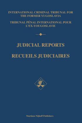 Judicial Reports / Recueils judiciaires, 2000 (2 vols)   Buch   sack.de