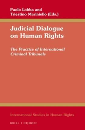 Lobba / Mariniello | Judicial Dialogue on Human Rights | Buch | sack.de