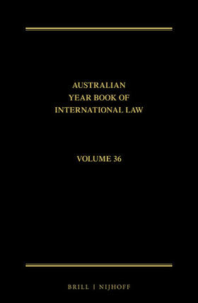 Rothwell / Zagor / Saunders | The Australian Year Book of International Law | Buch | sack.de